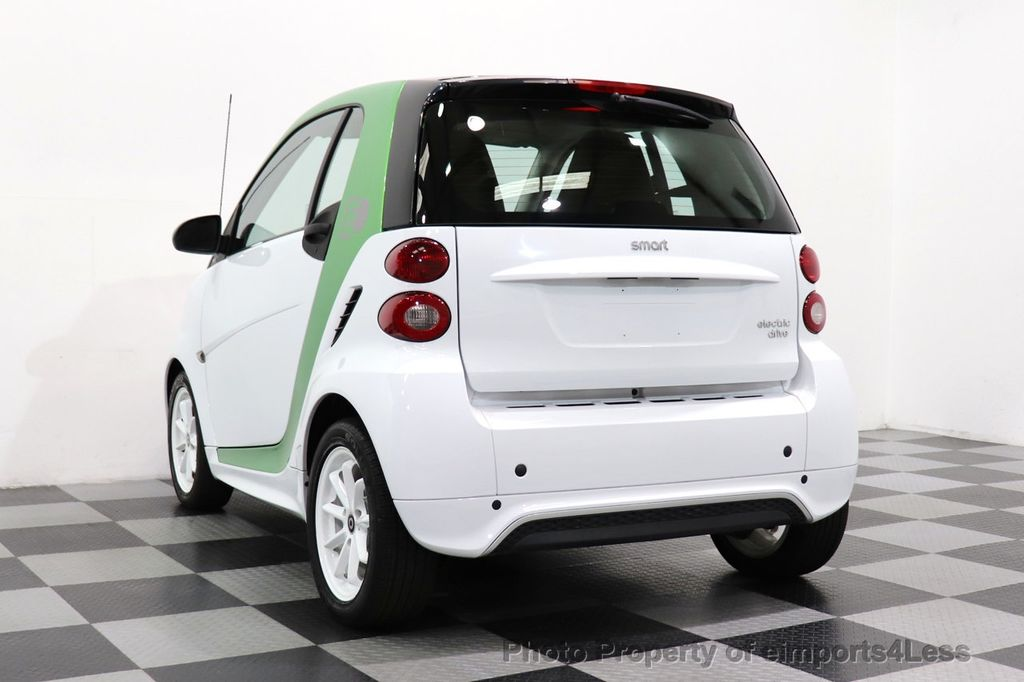 2015 smart fortwo electric drive CERTIFIED FORTWO ELECTRIC DRIVE PASSION KINETIC GREEN - 18423106 - 35