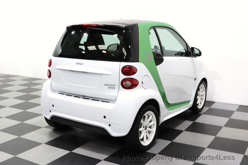 2015 smart fortwo electric drive CERTIFIED FORTWO ELECTRIC DRIVE PASSION KINETIC GREEN - 18423106 - 36