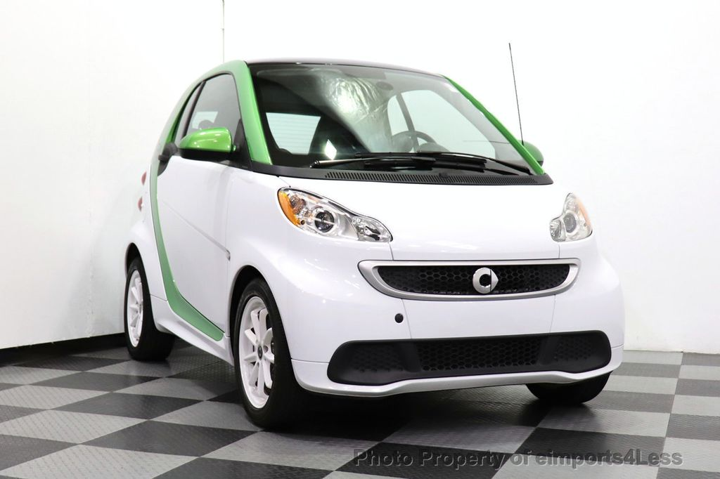 2015 smart fortwo electric drive CERTIFIED FORTWO ELECTRIC DRIVE PASSION KINETIC GREEN - 18423106 - 37