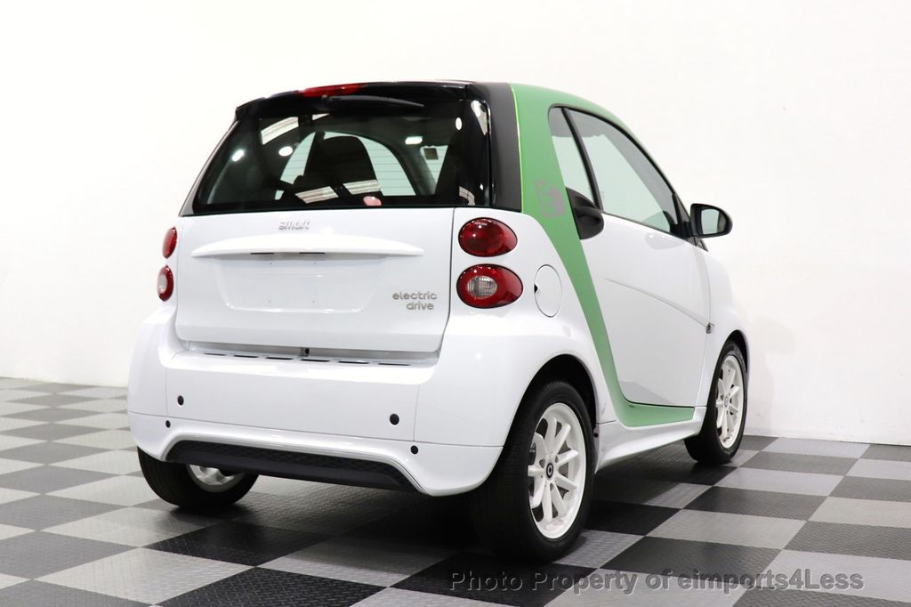 2015 smart fortwo electric drive CERTIFIED FORTWO ELECTRIC DRIVE PASSION KINETIC GREEN - 18423106 - 4