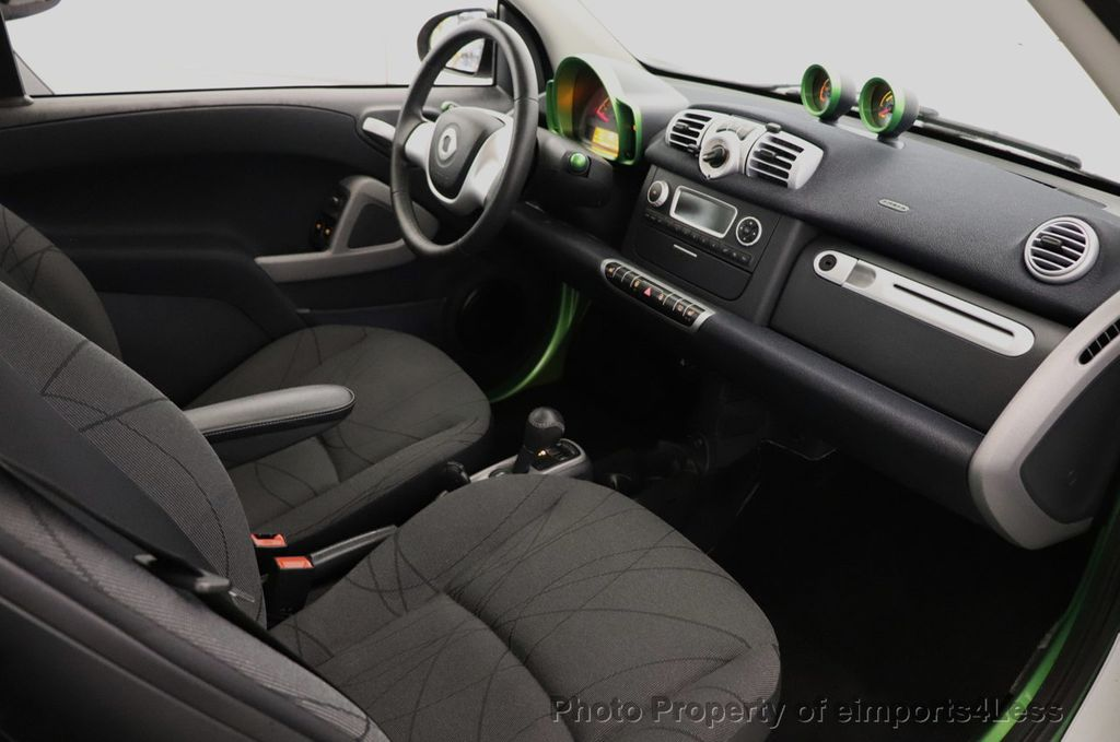 2015 smart fortwo electric drive CERTIFIED FORTWO ELECTRIC DRIVE PASSION KINETIC GREEN - 18423106 - 6