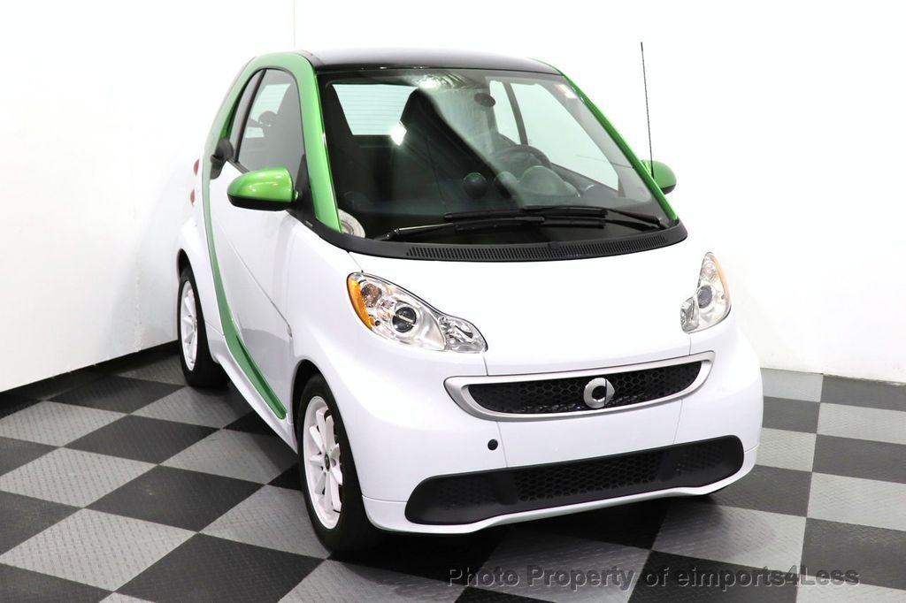 2015 smart fortwo electric drive CERTIFIED FORTWO ELECTRIC DRIVE PASSION KINETIC GREEN - 18423106 - 8