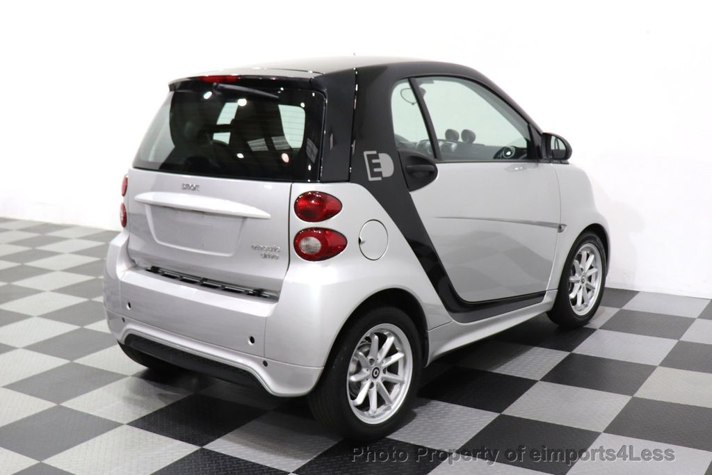 2015 smart fortwo electric drive CERTIFIED FORTWO PASSION EDRIVE CRUISE HEATED SEATS GLASS ROOF - 18467689 - 11