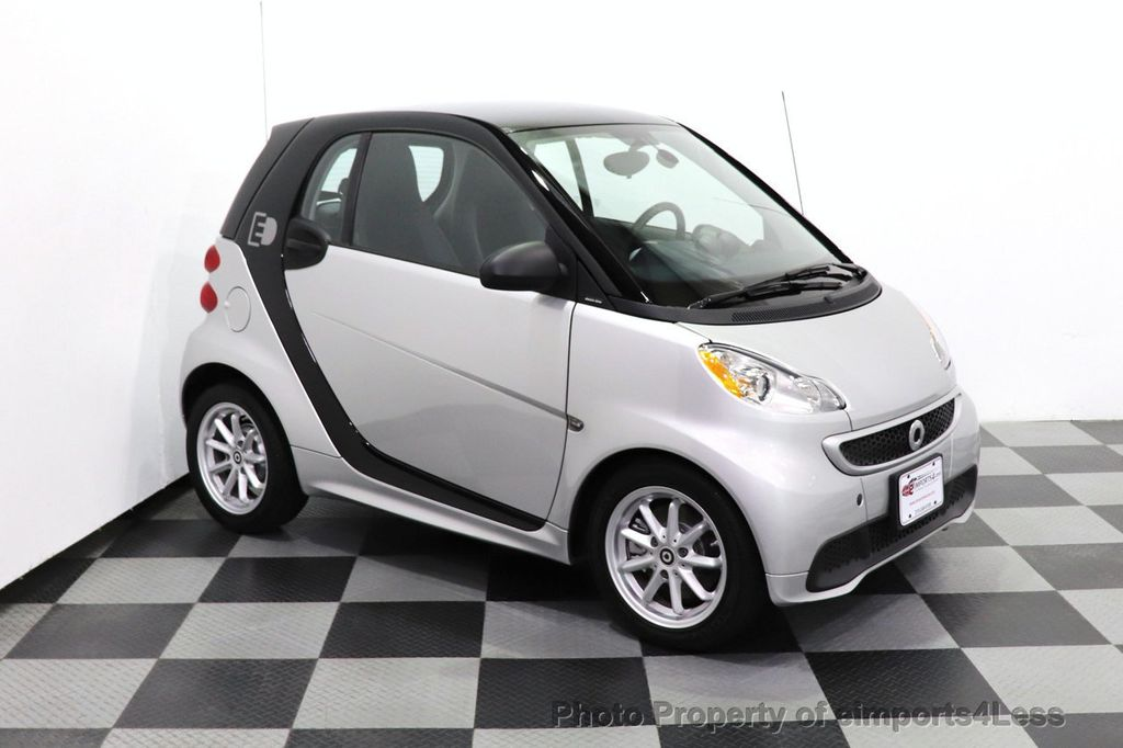 2015 smart fortwo electric drive CERTIFIED FORTWO PASSION EDRIVE CRUISE HEATED SEATS GLASS ROOF - 18467689 - 16