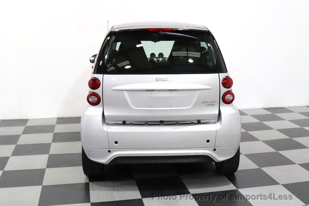 2015 smart fortwo electric drive CERTIFIED FORTWO PASSION EDRIVE CRUISE HEATED SEATS GLASS ROOF - 18467689 - 18