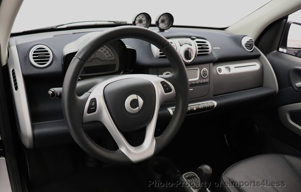 2015 smart fortwo electric drive CERTIFIED FORTWO PASSION EDRIVE CRUISE HEATED SEATS GLASS ROOF - 18467689 - 20