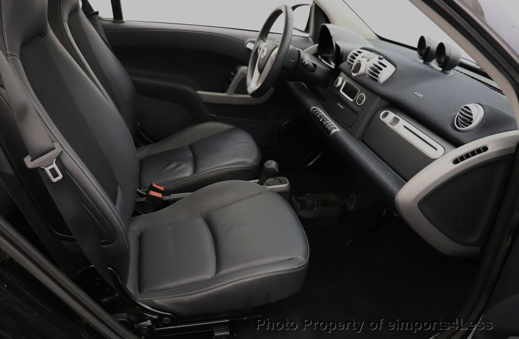 2015 smart fortwo electric drive CERTIFIED FORTWO PASSION EDRIVE CRUISE HEATED SEATS GLASS ROOF - 18467689 - 24