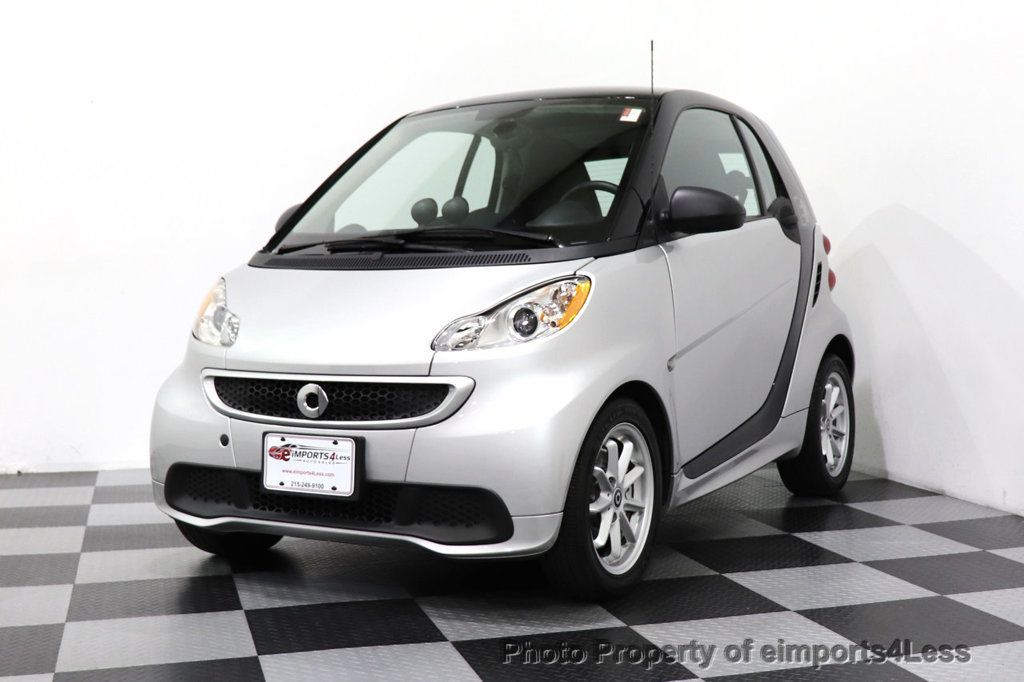 2015 smart fortwo electric drive CERTIFIED FORTWO PASSION EDRIVE CRUISE HEATED SEATS GLASS ROOF - 18467689 - 27