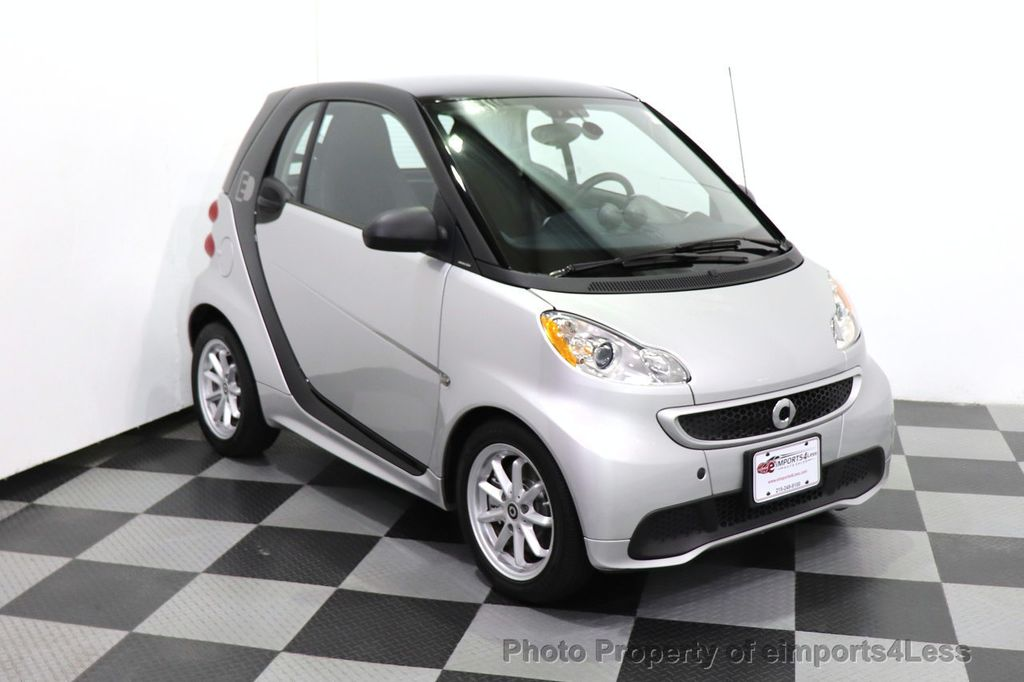 2015 smart fortwo electric drive CERTIFIED FORTWO PASSION EDRIVE CRUISE HEATED SEATS GLASS ROOF - 18467689 - 2