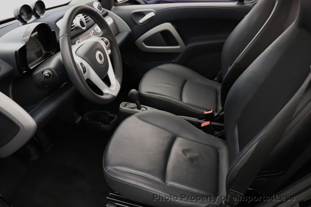 2015 smart fortwo electric drive CERTIFIED FORTWO PASSION EDRIVE CRUISE HEATED SEATS GLASS ROOF - 18467689 - 30
