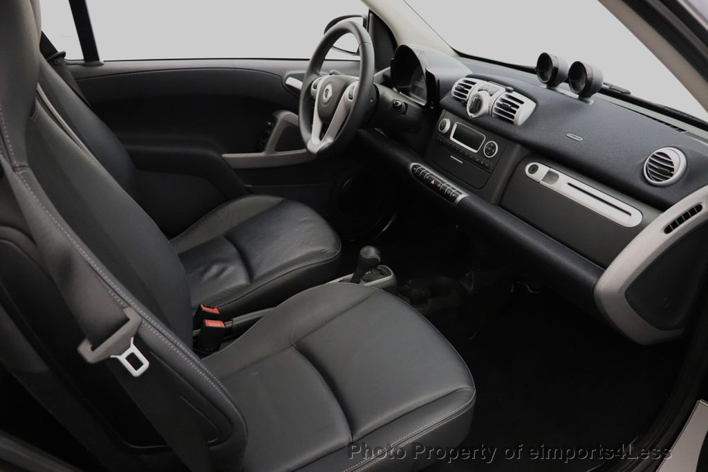 2015 smart fortwo electric drive CERTIFIED FORTWO PASSION EDRIVE CRUISE HEATED SEATS GLASS ROOF - 18467689 - 31