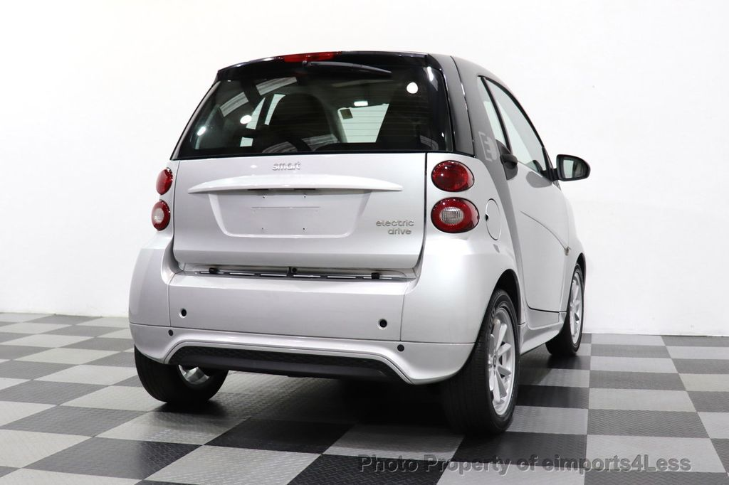 2015 smart fortwo electric drive CERTIFIED FORTWO PASSION EDRIVE CRUISE HEATED SEATS GLASS ROOF - 18467689 - 34