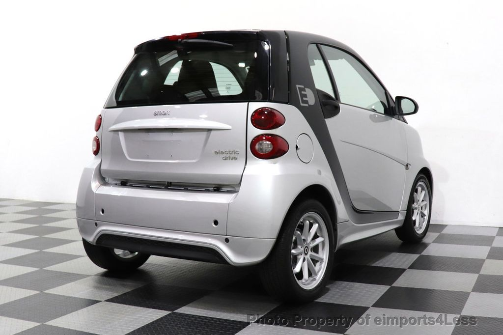 2015 smart fortwo electric drive CERTIFIED FORTWO PASSION EDRIVE CRUISE HEATED SEATS GLASS ROOF - 18467689 - 4