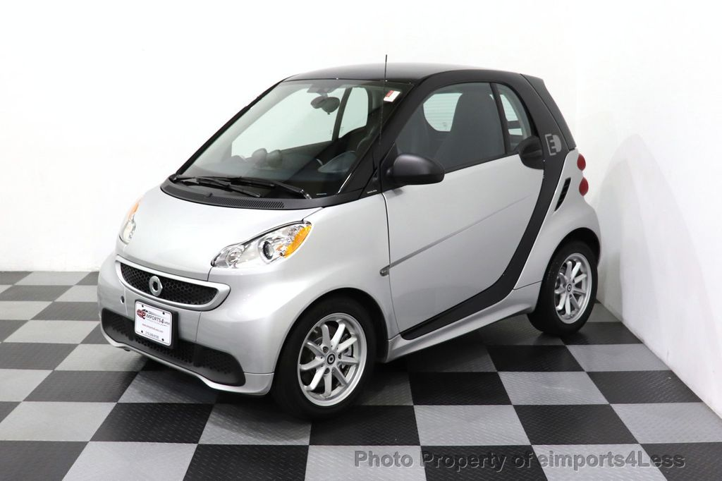2015 smart fortwo electric drive CERTIFIED FORTWO PASSION EDRIVE CRUISE HEATED SEATS GLASS ROOF - 18467689 - 7