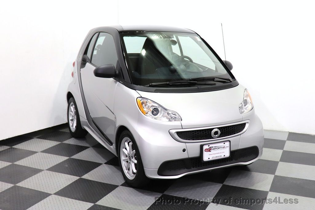 2015 smart fortwo electric drive CERTIFIED FORTWO PASSION EDRIVE CRUISE HEATED SEATS GLASS ROOF - 18467689 - 8