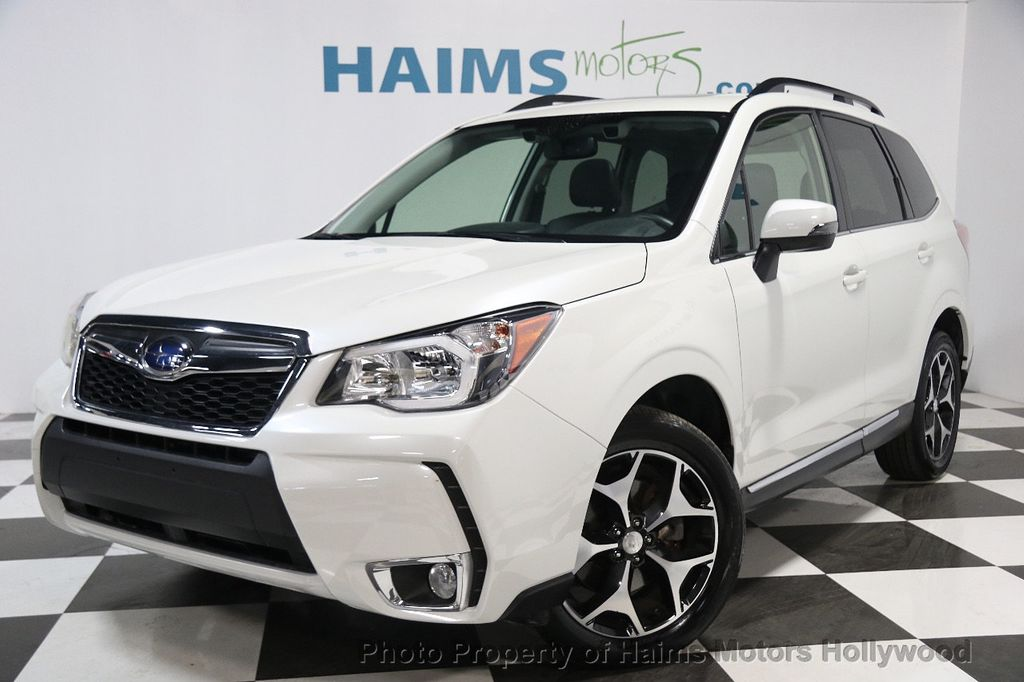 2015 used subaru forester 4dr cvt 2 0xt touring at haims motors serving fort lauderdale. Black Bedroom Furniture Sets. Home Design Ideas