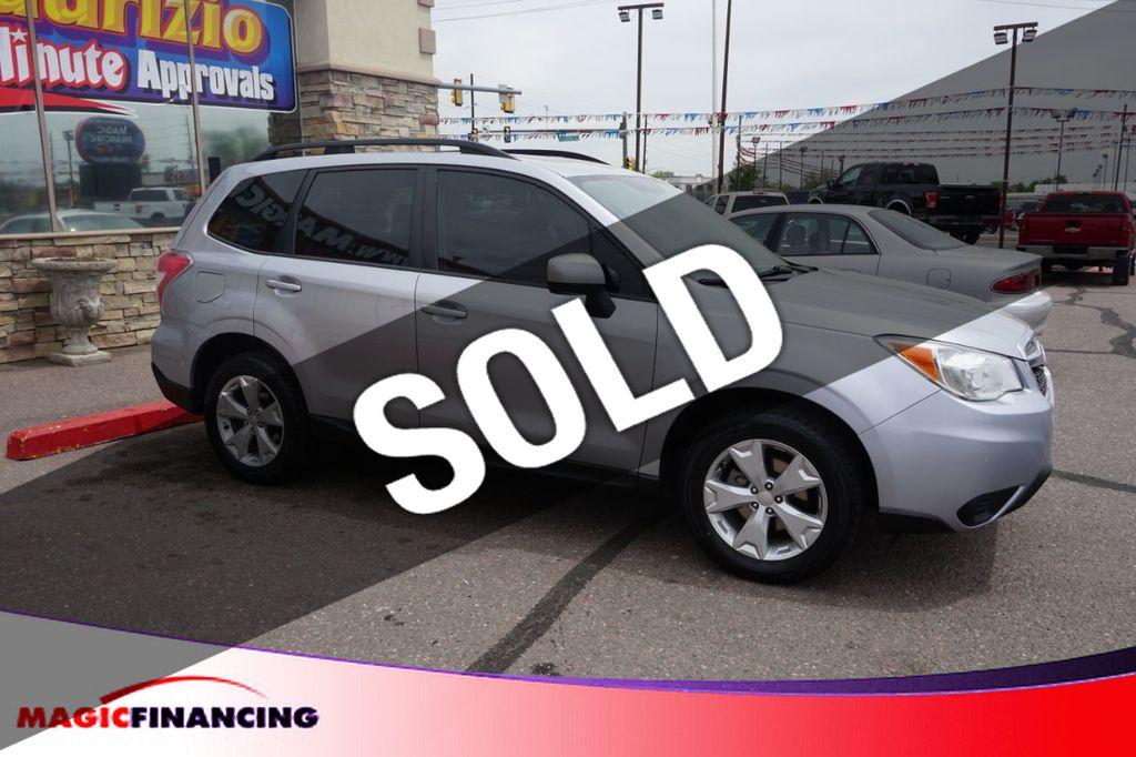 Used Subaru Denver >> 2015 Used Subaru Forester 4dr Cvt 2 5i Premium Pzev At Magic Financing Serving Denver Co Iid 18937114