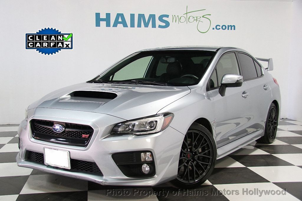 2015 used subaru wrx sti 4dr sedan at haims motors ft for Subaru motors finance address