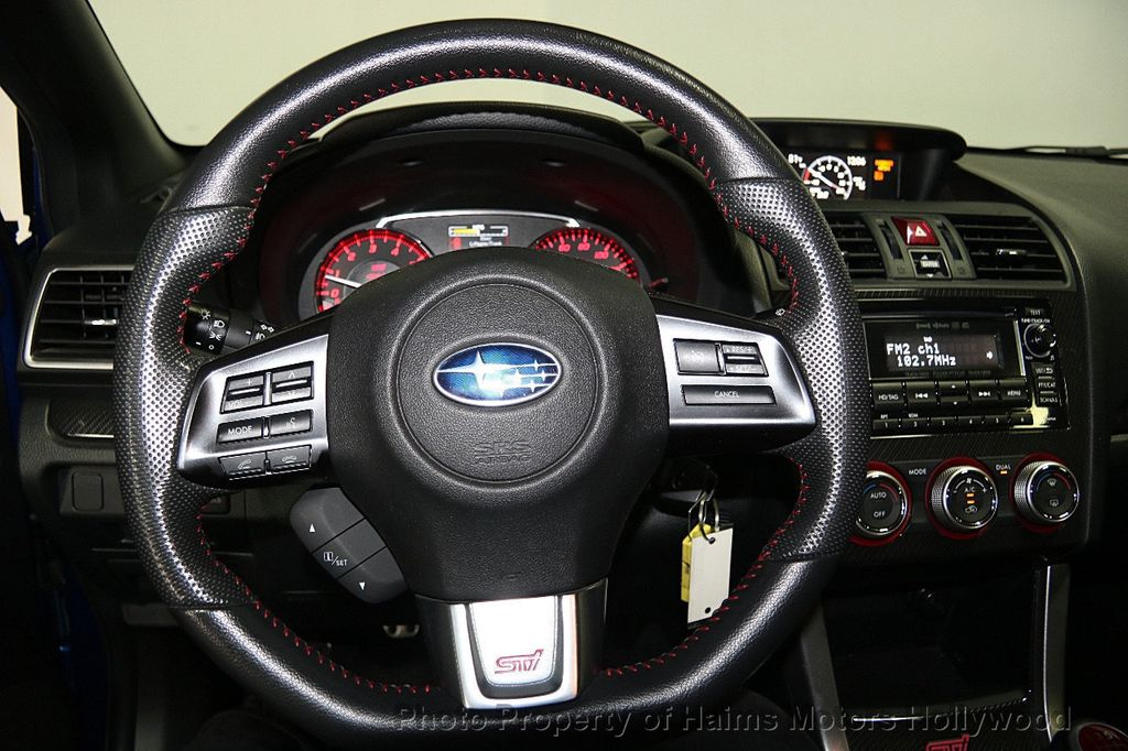 2015 Subaru WRX STI 4dr Sedan - 16489828 - 26
