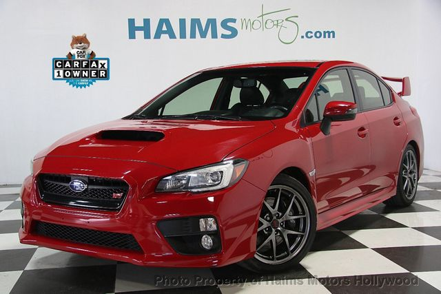2015 Used Subaru WRX STI 4dr Sedan Limited at Haims Motors Hollywood