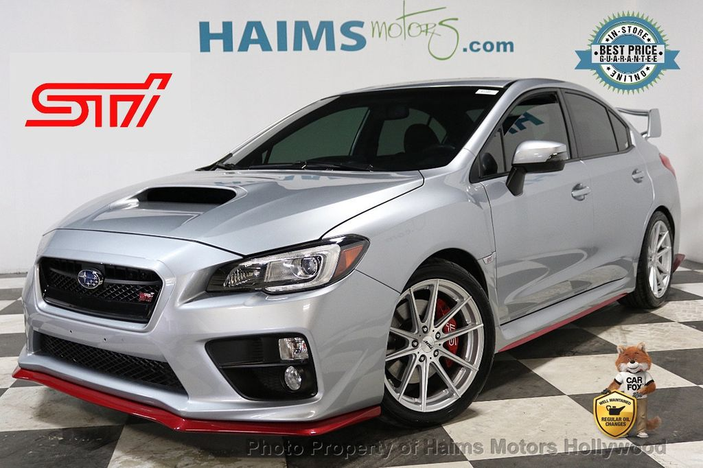 2015 Subaru WRX STI 4dr Sedan Limited - 18227954 - 0