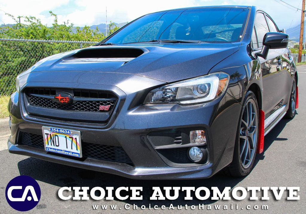 2015 Subaru WRX STI 4dr Sedan Limited - 18642927 - 0