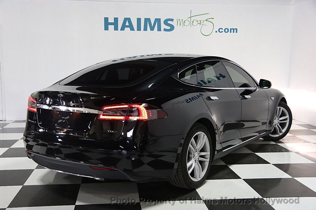 2015 used tesla model s 4dr sedan awd 70d at haims motors. Black Bedroom Furniture Sets. Home Design Ideas