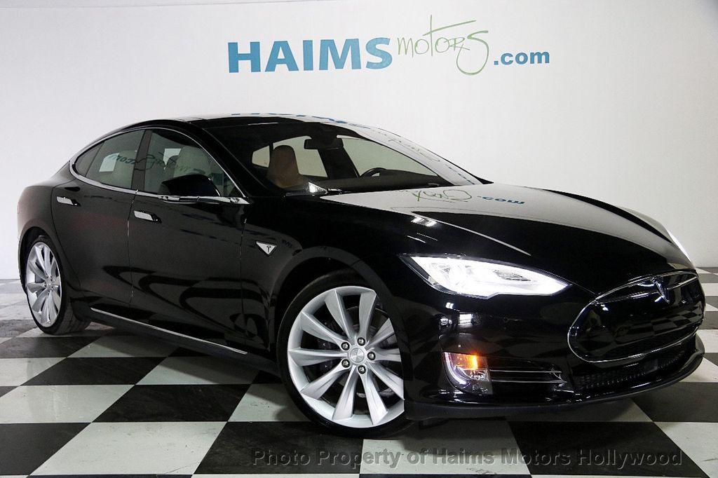 2015 Used Tesla Model S 4dr Sedan AWD 85D at Haims Motors Serving ...
