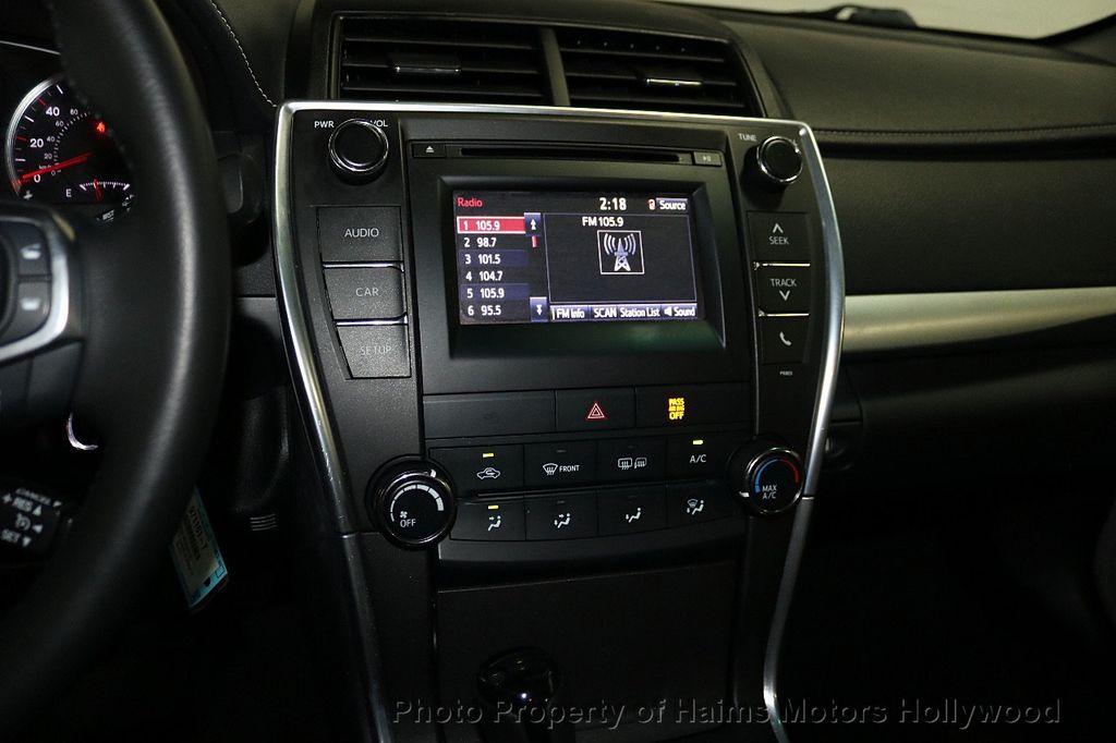 2015 Toyota Camry 4dr Sedan I4 Automatic SE - 18159606 - 18