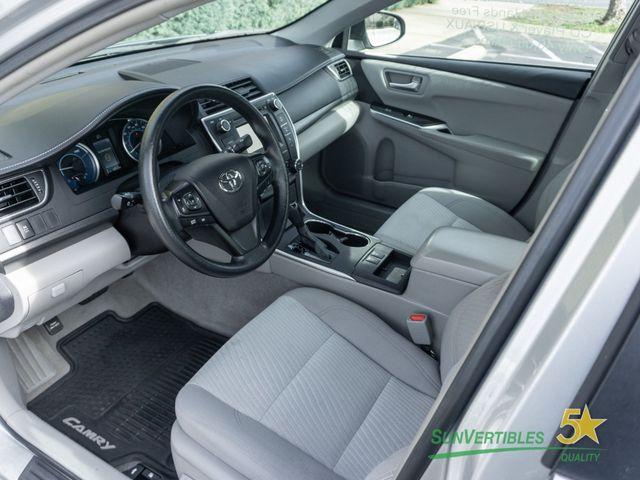 2015 Toyota Camry Hybrid 4dr Sedan LE - 18489930 - 11
