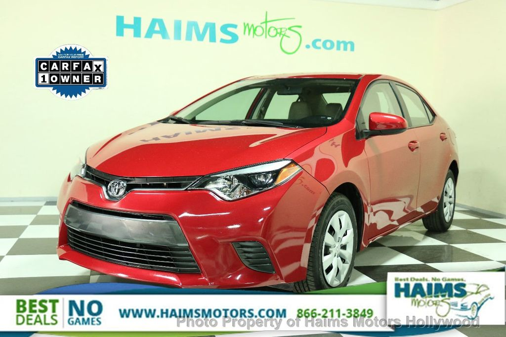 2015 used toyota corolla at haims motors serving fort lauderdale hollywood miami fl iid 14743446. Black Bedroom Furniture Sets. Home Design Ideas