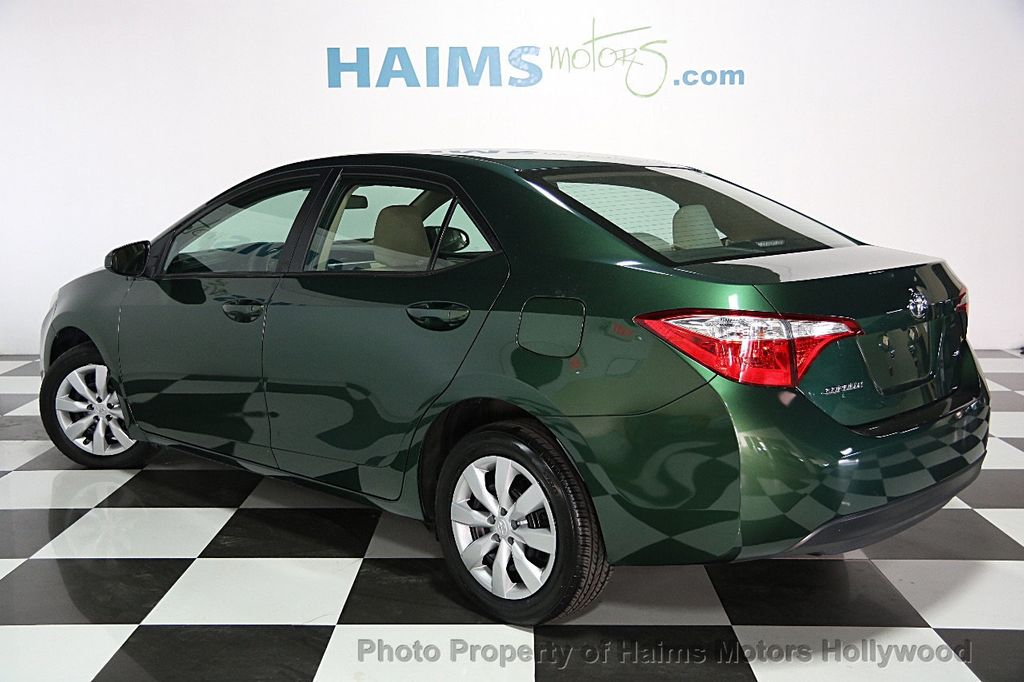 2015 used toyota corolla 4dr sedan cvt le at haims motors ft lauderdale serving lauderdale lakes. Black Bedroom Furniture Sets. Home Design Ideas
