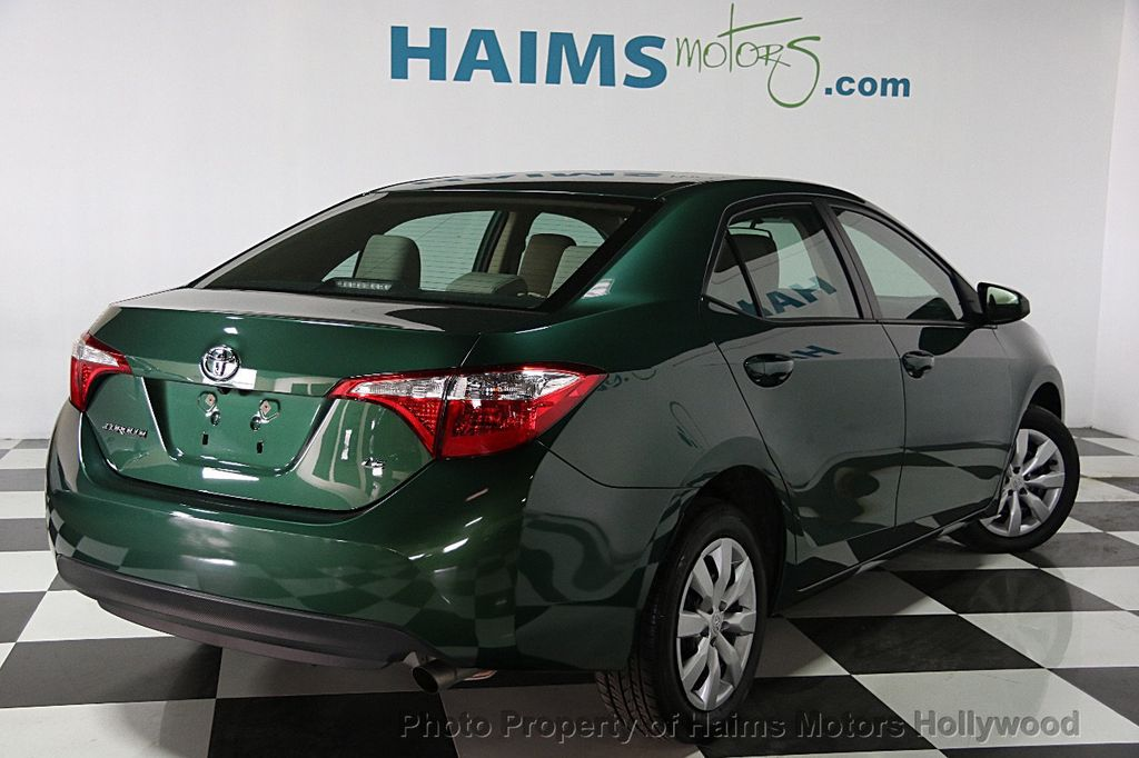 2015 used toyota corolla 4dr sedan cvt le at haims motors serving fort lauderdale hollywood. Black Bedroom Furniture Sets. Home Design Ideas