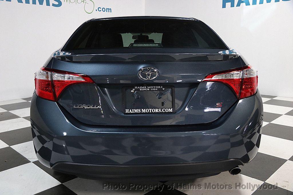 2015 Used Toyota Corolla 4dr Sedan Cvt S At Haims Motors