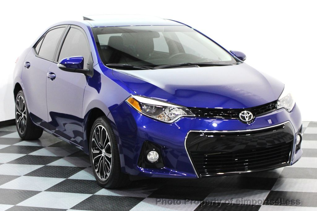 2015 used toyota corolla certified corolla s plus sedan navi 6 speed at eimports4less serving. Black Bedroom Furniture Sets. Home Design Ideas