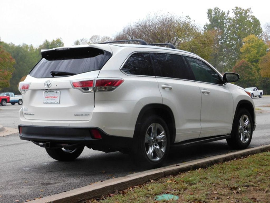 2015 used toyota highlander awd 4dr v6 limited platinum at. Black Bedroom Furniture Sets. Home Design Ideas