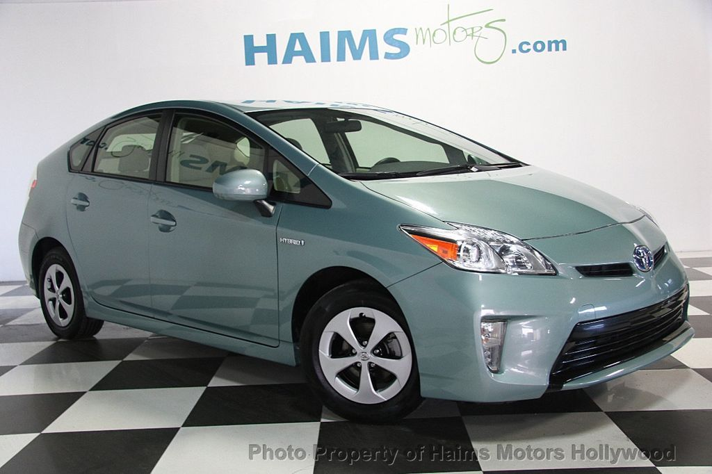 2015 used toyota prius 5dr hatchback four at haims motors serving fort lauderdale hollywood. Black Bedroom Furniture Sets. Home Design Ideas