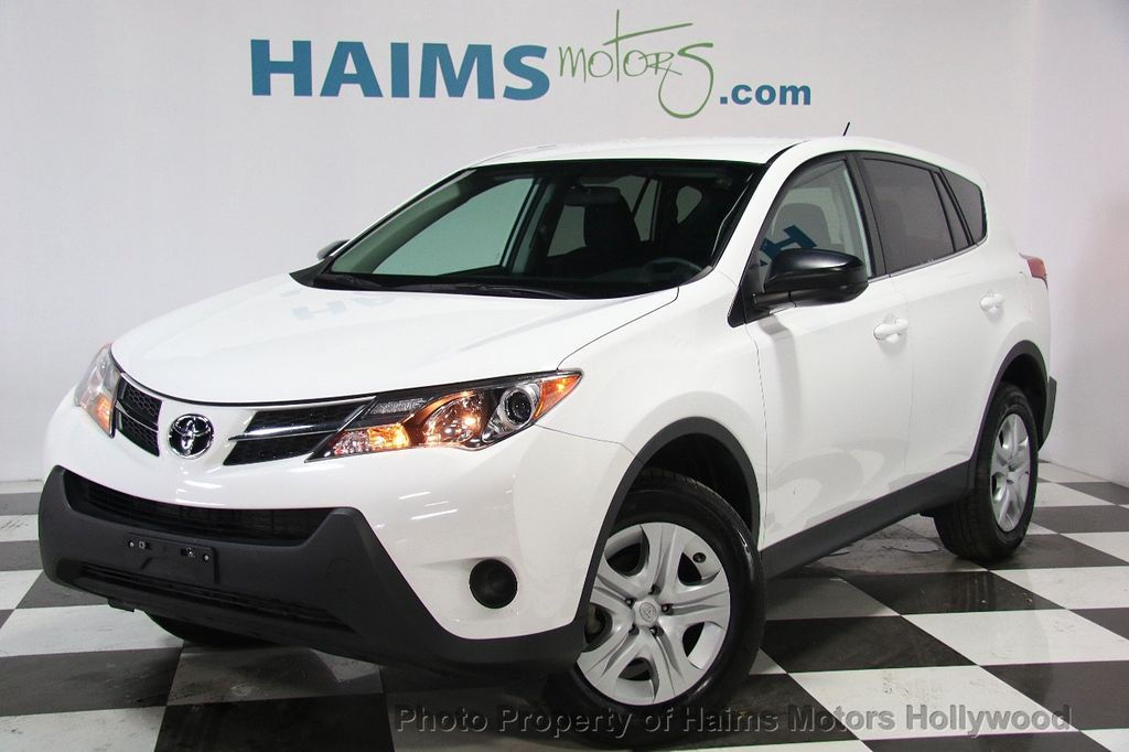 2015 used toyota rav4 awd 4dr le at haims motors serving fort lauderdale hollywood miami fl. Black Bedroom Furniture Sets. Home Design Ideas