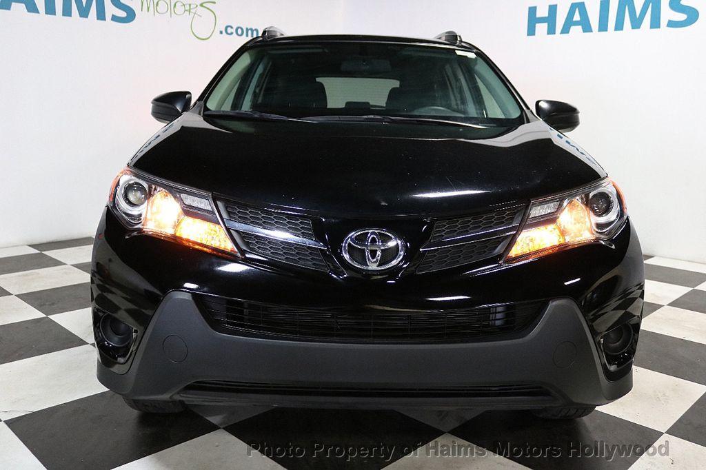 2015 Toyota RAV4 FWD 4dr LE - 18455267 - 2