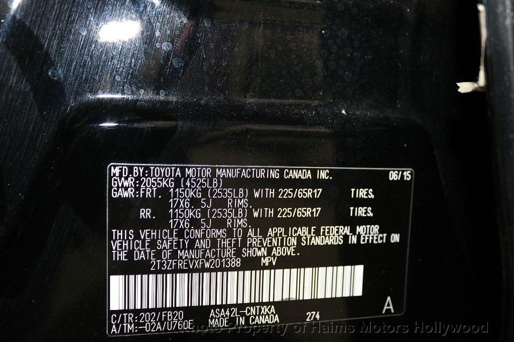 2015 Toyota RAV4 FWD 4dr LE - 18455267 - 30
