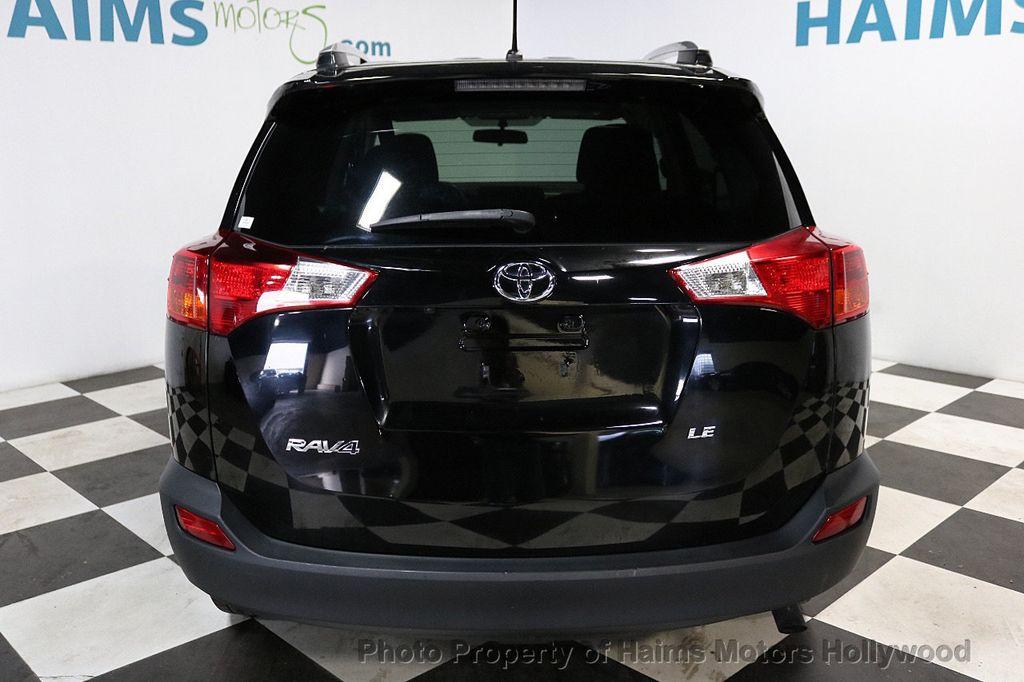2015 Toyota RAV4 FWD 4dr LE - 18455267 - 5