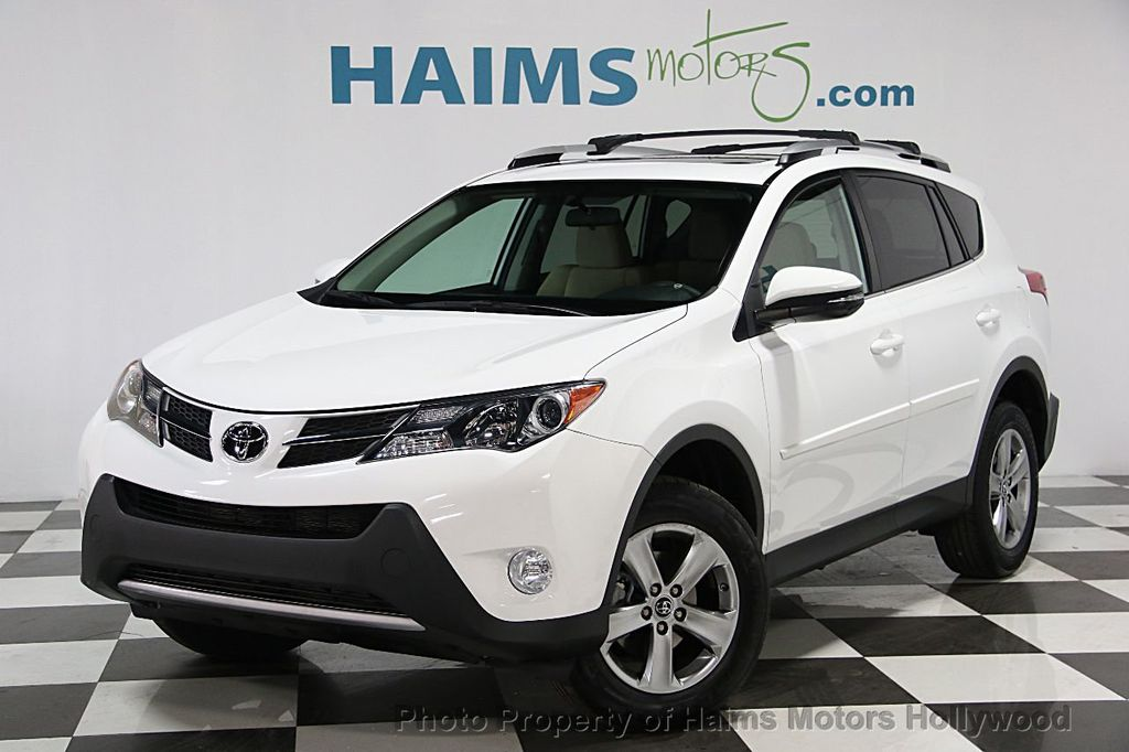 2015 used toyota rav4 fwd 4dr xle at haims motors hollywood serving fort lauderdale hollywood. Black Bedroom Furniture Sets. Home Design Ideas