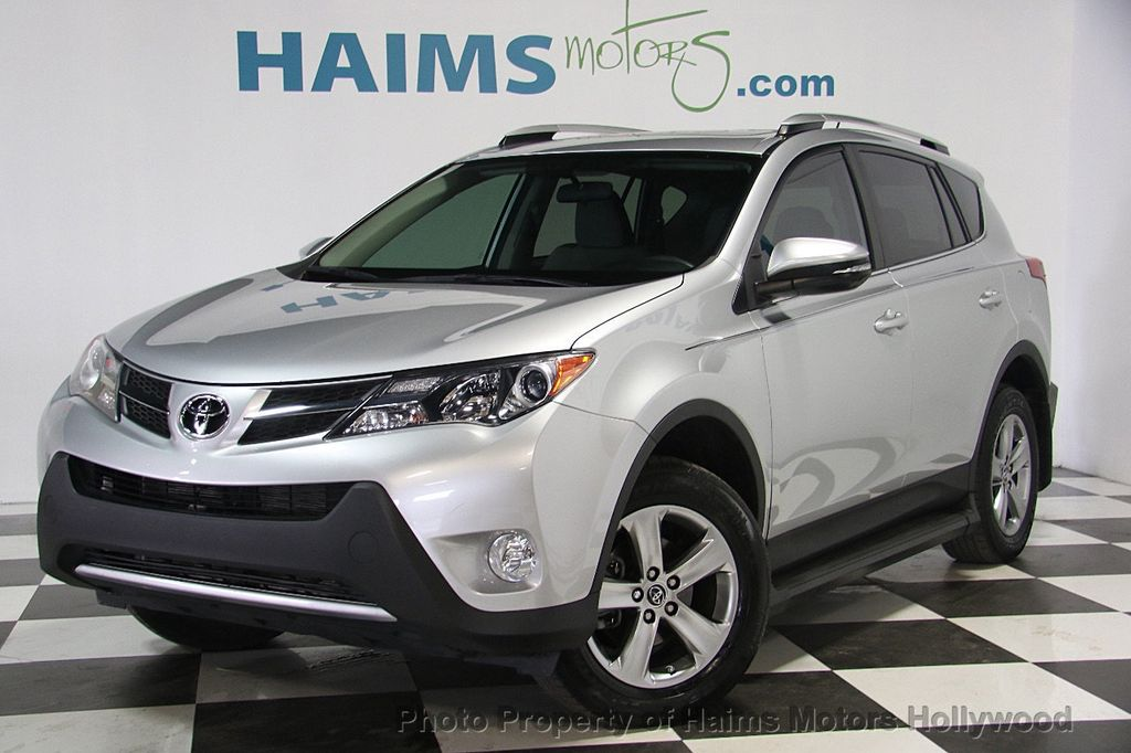 2015 used toyota rav4 fwd 4dr xle at haims motors serving fort lauderdale hollywood miami fl. Black Bedroom Furniture Sets. Home Design Ideas