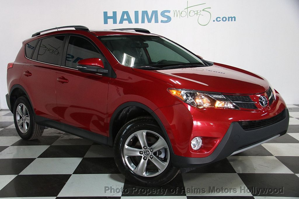 2015 used toyota rav4 fwd 4dr xle at haims motors ft lauderdale serving lauderdale lakes fl. Black Bedroom Furniture Sets. Home Design Ideas