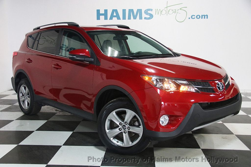2015 Used Toyota RAV4 FWD 4dr XLE at Haims Motors Serving ...