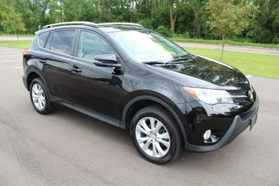 2015 Toyota RAV4 LIMITED AWD LEATHER MOONROOF NAVIGATION SUV