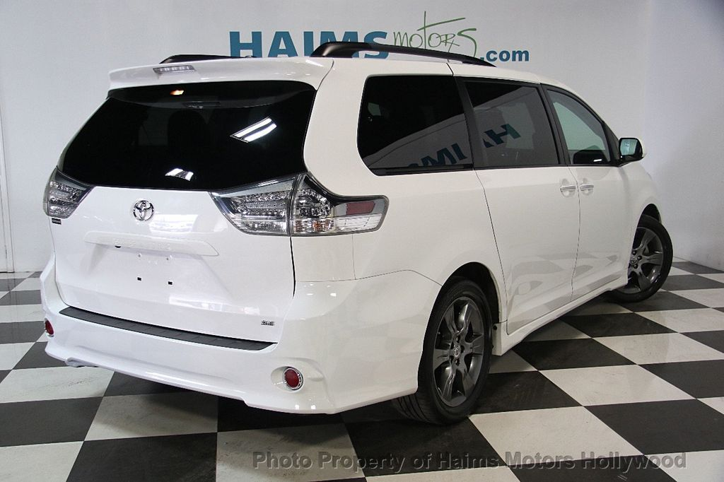 2015 used toyota sienna 5dr 8 passenger van se fwd at. Black Bedroom Furniture Sets. Home Design Ideas