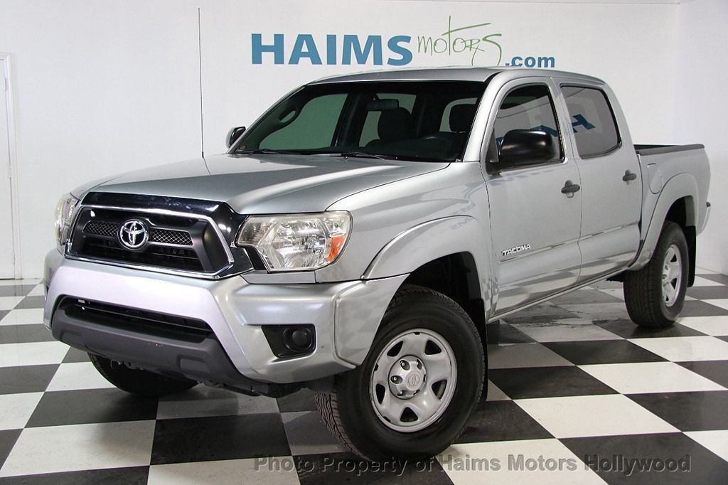 2015 Used Toyota Ta a 2WD Double Cab I4 AT PreRunner at Haims