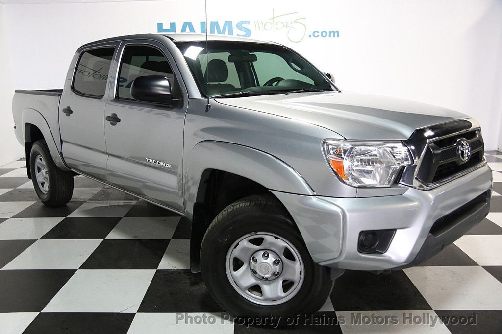2015 Toyota Tacoma 2WD Double Cab I4 AT PreRunner - 16465281 - 2