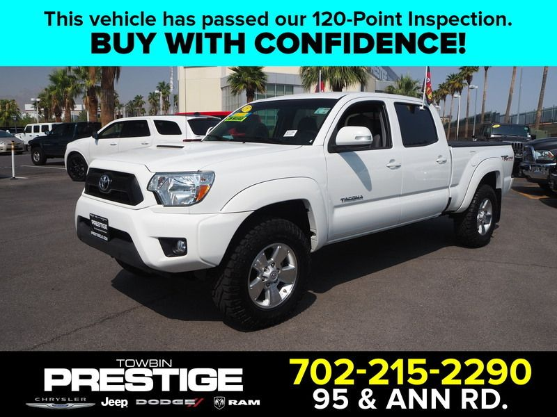 2015 Toyota Tacoma 2WD Double Cab LB V6 AT PreRunner - 17863237 - 0